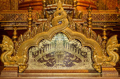 buddistisk skulptur Arkivbild