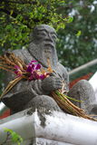 buddistisk skulptursten Royaltyfri Fotografi