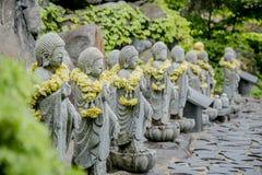 Buddistisk sten i templet Royaltyfri Foto