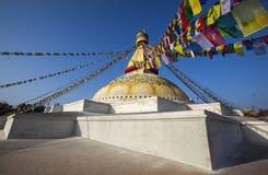 Buddistisk stupa Arkivfoton
