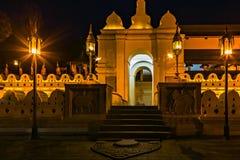 Buddistisk tempel av tanden kandy Sri Lanka askfat arkivfoton