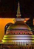 Buddistisk tempel av tanden kandy Sri Lanka askfat royaltyfri fotografi