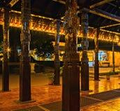 Buddistisk tempel av tanden kandy Sri Lanka askfat fotografering för bildbyråer