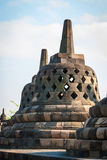 Buddistisk tempel Borobudur, Magelang, Indonesien royaltyfria bilder