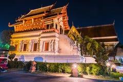 Buddistisk tempel Chiang Mai, Thailand Royaltyfri Bild