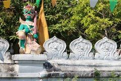 Buddistisk tempel - Chiang Mai - Thailand Royaltyfria Foton