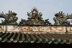 Buddistisk tempel - Hoi An - Vietnam Royaltyfria Foton