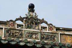 Buddistisk tempel - Hoi An - Vietnam Arkivfoton