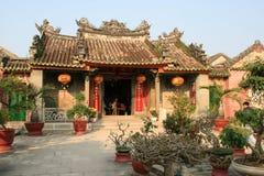 Buddistisk tempel - Hoi An - Vietnam (9) Arkivbilder