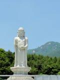 Buddistisk tempel i Daegu, Sydkorea Royaltyfri Fotografi