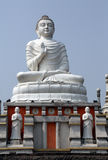 Buddistisk tempel i Howrah, Indien Royaltyfria Bilder
