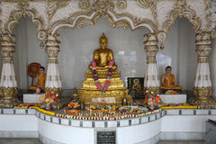 Buddistisk tempel i Howrah, Indien royaltyfri foto