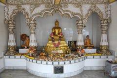 Buddistisk tempel i Howrah, Indien Arkivbilder