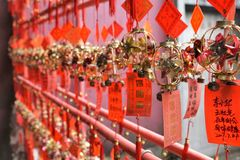 Buddistisk tempel i Macao i Kina royaltyfria bilder