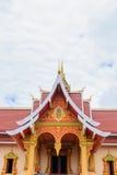 Buddistisk tempel i Vientiane Royaltyfri Foto