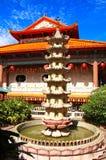 Buddistisk tempel Kek Lok Si, Georgetown, Penang ö, Malaysia royaltyfri bild