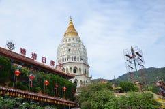 Buddistisk tempel Kek Lok Si i Penang royaltyfri foto