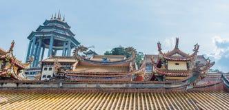Buddistisk tempel Kek Lok Si i Penang, Malaysia, Georgetown arkivbild