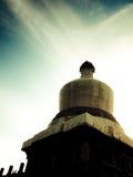Buddistisk tempel @ Mount Emei, Kina Royaltyfria Bilder