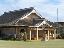 Buddistisk tempel, southshore, Kauai Royaltyfri Bild