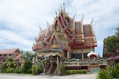 buddistiska byggande thailand Arkivbilder