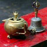 buddistiska ceremoniämnen Royaltyfri Fotografi