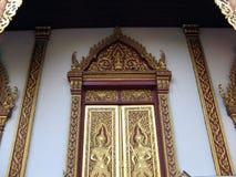 buddistiska dörrar royaltyfri foto