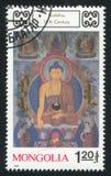 buddistiska gudar Arkivbild