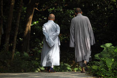 buddistiska monks Royaltyfri Bild