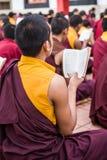 buddistiska monks Royaltyfria Bilder