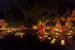 buddistiska monks Arkivfoton