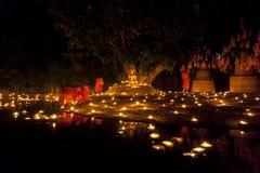buddistiska monks Fotografering för Bildbyråer