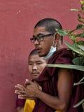 Buddistiska munkar Royaltyfri Bild