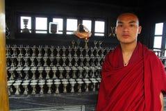 buddistiska smörlampor Royaltyfri Fotografi