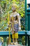 Buddistiska statyer. Arkivbild