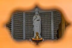 buddistiska statyer Arkivbild
