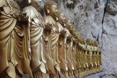 buddistiska statyer Royaltyfria Bilder