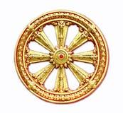 Buddistiska symboler Arkivfoto