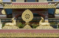 Buddistiska symboler Arkivbilder