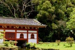 1 buddistiska tempel Arkivfoto