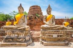Buddistiska tempel - bhudabild Thailand Royaltyfri Bild