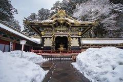 Buddistiska tempel för japansk Shinto i Nikko Arkivfoton