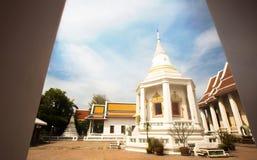 Buddistiska tempel i Bangkok, Thailand royaltyfri bild