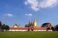 Buddistiska tempel i Bangkok, Thailand Arkivfoto