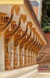 buddistiska tempel thailand Royaltyfri Fotografi