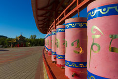 buddistiskt bönhjul Royaltyfria Bilder