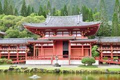 buddistiskt byodotempel Arkivfoto
