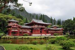 buddistiskt byodotempel Arkivbild
