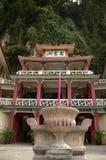 buddistiskt grottatempel Arkivbilder