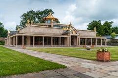 buddistiskt kadampatempel arkivbild